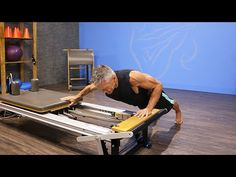 One-Arm Sliding Push-Up on Reformer - YouTube