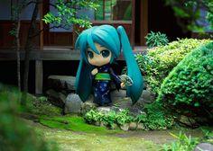 Nendoroid figure photo by KIMURA yoshinobu Vocaloid, Figure Photography, Toys Photography, Best Anime Shows, Cute Girl Drawing, Tokyo Otaku Mode, Anime Toys, Anime Figurines, Anime Merchandise