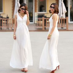 Summer long white
