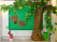 Favorite Book Bulletin Board competition...The Giving Tree