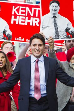 Liberals Win Canadian Election, Ousting Harper, According To Projections