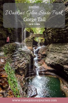 Watkins Glen State Park: Hiking the Gorge Trail (New York)You can find State parks and more on our website.Watkins Glen State Park: Hiking the Gorge Trail (New York) Safari Outfits, Places To Travel, Places To See, Travel Destinations, New York Travel, Travel Usa, Dream Vacations, Vacation Spots, Greece Vacation