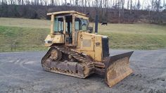 1990 Caterpillar D4H Series 3 Dozer Crawler Tractor Diesel Engine Cat Hydraulics