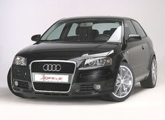 Black Audi - Not sure black is the color I prefer, but I've always loved the look of an Audi - so sleek, like a dolphin!
