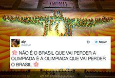 35 tuítes do encerramento da Olimpíada que merecem ganhar uma medalha