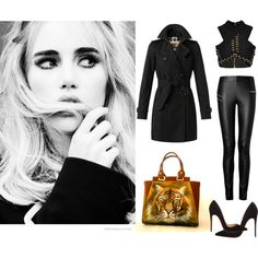 """DARK STYLE"" by dg-hanul on Polyvore"