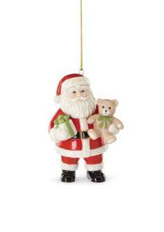 Lenox  2016 Good Tidings Santa Ornament