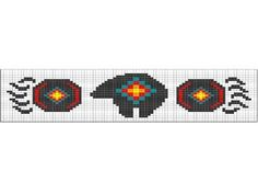 Image detail for -Loom Beadwork Pattern Native American Bear