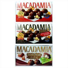 Meiji Macadamia Nuts Chocolate / Black / Meltykiss Chocolate Various Flavor #Meiji