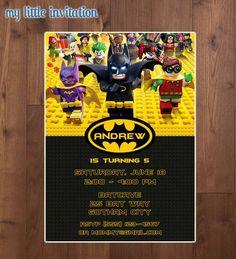aba28e7f6ea5e201b4fcc845f43ab23f batman party lego batman lego batman invitation 4x6 or 5x7 by orchidaveprintables on etsy,Lego Batman Movie Invitations