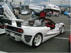 The Autozam AZ-1 RE Amemiya GReddy VI-AZ1 - Japanese