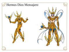 Hermes Dios Mensajero by Javiiit0