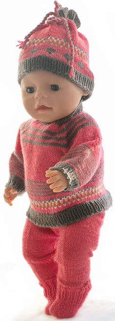 American Doll Clothes, American Dolls, Girl Dolls, Baby Dolls, American Girl, Alexander Dolls, Komplette Outfits, Baby Born, Pullover