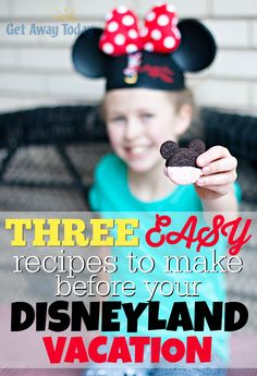 Three Easy Recipes t