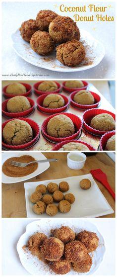 Coconut Flour Donut Holes @ Healy Eats Real