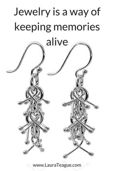 These silver dangle earrings are made by hand. Perfect for a birthday gift, Mother's Day gift, or gift for girlfriend. Sterling Silver Dangle Earrings, Handmade Sterling Silver, Silver Jewelry, Silver Rings, 925 Silver, Unusual Gifts For Her, Unique Gifts For Women, Luxury Jewelry, Unique Jewelry