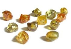12.41 Carat lot of MIXED FANCY COLORS Natural Uncut Rough Diamonds WHOLESALE