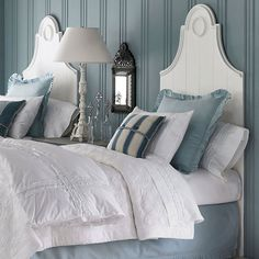 French inspired headboard