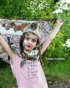If there's one thing on our mind in this heat it's a cooling Fennec London #silk #scarf! With a print designed to make you smile it's sure to make you smile -even if you have to spend it working!
