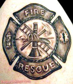 maltese firefighter tattoo
