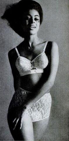 Loveable lingerie, Ebony magazine May 1962