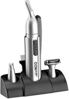 Conair NE163RCS Grooming Kit 9 Piece Set Men's Shaving, Ear Hair Trimmer, Grooming Kit, Brush Cleaner, Household Items, Wellness, Cleaning, Bath, Ideas