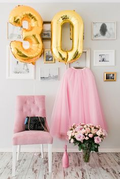 Birthday girl. Maxi pink tulle skirt by Claudia Fagadar.