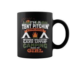 Camping Kinda Girl NEW MUG  coffee mug, papa mug, cool mugs, funny coffee mugs, coffee mug funny, mug gift, #mugs #ideas #gift #mugcoffee #coolmug