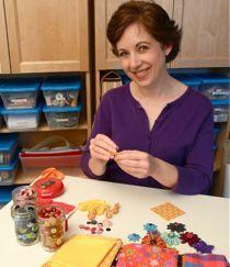 How to Make Stiffened Fabric Jewelry