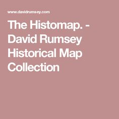 The Histomap. - David Rumsey Historical Map Collection