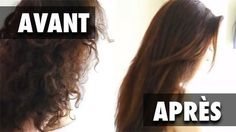 se lisser les cheveux sans fer à lisser