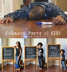 Baby #4 announcement, fourth pregnancy