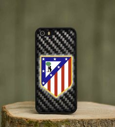 Atletico Madrid FC Football Rubber Phone Cover Case fits Apple Iphone 4 s 5 5c 6   Mobile Phones & Communication, Mobile Phone & PDA Accessories, Cases & Covers   eBay!