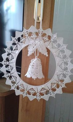 Best 12 Christmas decorations – Page 65935582030479209 – SkillOfKing.Com Best 12 Christmas decorations – Page 65935582030479209 – SkillOfKing. Crochet Christmas Wreath, Crochet Christmas Decorations, Christmas Crochet Patterns, Crochet Ornaments, Holiday Crochet, Crochet Snowflakes, Christmas Bells, Crochet Doilies, Crochet Flowers
