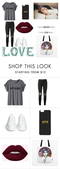 """""""rap monster ∆"""" by explorer-14999030865 ❤ liked on Polyvore featuring AMIRI and Robert Clergerie"""