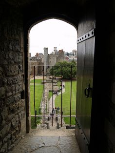 A view from inside the walls of The Keep in Cardiff Castle,  looking towards the main gate. Cardiff, South Wales | Flickr - Photo Sharing!