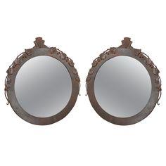 Pair Of Art Deco Mirrors