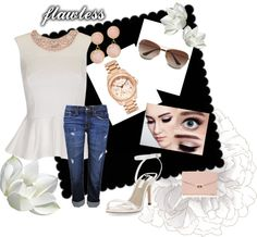 """""""Casual day look"""" by minellyand-diego on Polyvore"""