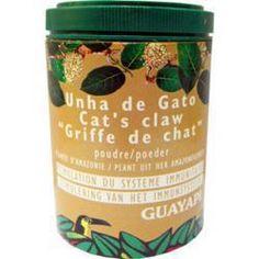 Unha de gato ou griffe de chat 50g Guayapi  Unha de gato ou 'cat's claw' ou 'griffe de chat' est conseillée pour ses bienfaits sur les articulations et la stimulation du système immunitaire...