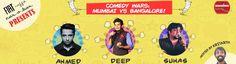Comedy Wars: Mumbai vs Bangalore @ Fiat Caffe-Car-O-Bar - http://explo.in/1TafkTO #Bangalore #Comedy