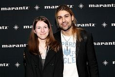 Lexie Varro and David Garrett attend the David Garrett Meet and Greet Presented by Marantz at Best Buy Theater on February 18, 2011 in New York City.
