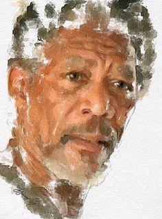 Risultati immagini per watercolor portrait