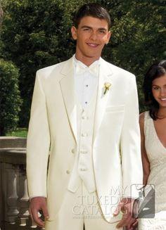 Ivory 'Modern Essential' Dinner Jacket | Tuxedos & Suits | MyTuxedoCatalog.com