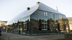 Taking the form of a traditional farm building in Schijndel in the Netherlands, MVRDV's Glass Farm is a spectral monument to historic local architecture.