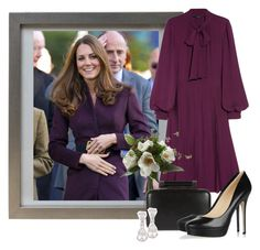 Duchess of Cambridge by analia7 on Polyvore featuring polyvore fashion style Gucci Jimmy Choo Diane Von Furstenberg Kenneth Jay Lane Alexander McQueen clothing