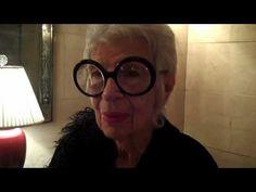 Iris Apfel on style.