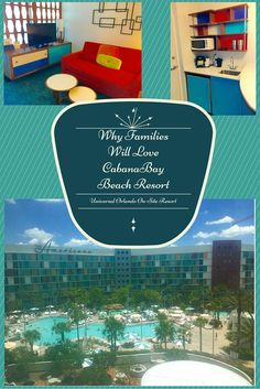 Cabana Bay Beach Resort Review in Orlando, Florida