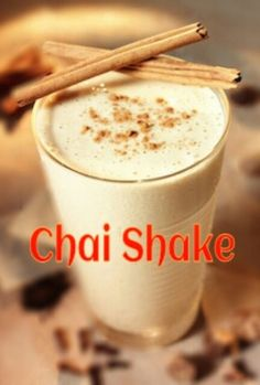 Protein Shake: Vanilla Chai  OH my yes... Chai doesn't exactly fit in with my healthy diet, so I'm SO excited about this!