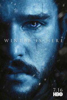 Jon #GoTS7 #WinterisHere Character Poster from www.watchersonthewall.com