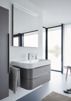 Duravit offers the various types of wash basin designs, bathroom sinks, wash-hand basins for your modern and comfortable bathroom. Find the luxurious wash basin & wash bowl at a Duravit. Contemporary Vanity, Modern Vanity, Modern Bathroom, Complete Bathrooms, Dream Bathrooms, Duravit, Bathroom Vanity Designs, Bathroom Vanities, Decorating A New Home